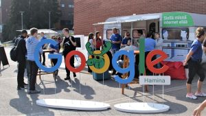 Google esittäytyy yliopistolla Lappeenrannassa