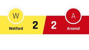 Watford - Arsenal 2-2