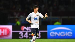 Leccen Diego Farias juhlii maalia.