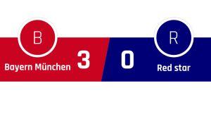 Bayern München - Red Star Belgrad 3-0