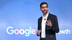 Googlen toimitusjohtaja Sundar Pichai.