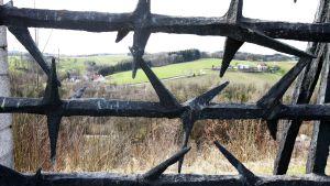 Mauthausenin keskitysleirin muistomerkki Itävallassa.