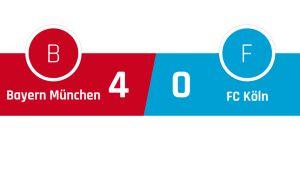 Bayern München - FC Köln 4-0