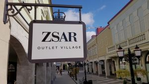 Zsar outlet-kylä