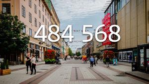 Varsinais-Suomen väkiluku