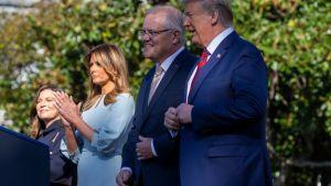 Australian pääministeri Scott Morrison ja vaimonsa Jenny Morrison vierailivat Valkoisessa talossa Presidentti Donald Trumpin ja Melania Trumpin vieraina syyskuun 20. päivä.
