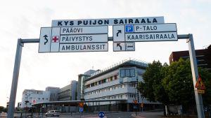 Kuopion yliopistollinen sairaala.