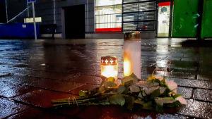 Kuopio koulusurma kynttilät.