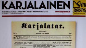 Karjalaisen 145-vuotisjuhlalehti.