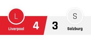 Liverpool - Salzburg 4-3