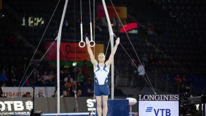 Permantospesialisti Emil Soravuo haaveilee Tokion olympiakisoista