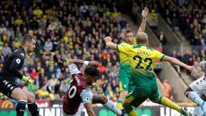 Teemu Pukki vs. Aston Villa