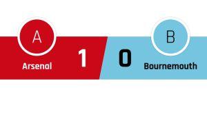 Arsenal - Bournemouth 1-0