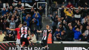 Newcastle voitti Man United Matt Longstaffin maalilla.