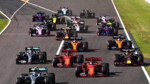 Lähtö, Japanin GP 2019