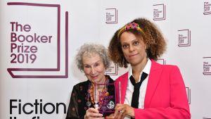 Margaret Atwood, Bernardine Evaristo, Booker-palkinto