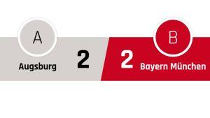 Ausburg - Bayern München 2-2