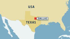 Kartta Texas Dallas
