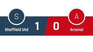 Sheffield United - Arsenal 1-0