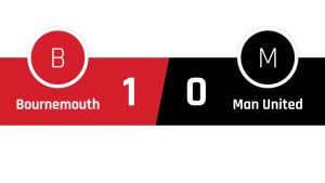 Bournemouth - Manchester United 1-0
