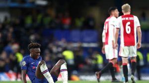 Chelsean Tammy Abrahamin reaktio uskomattoman Ajax-ottelun jäljiltä.