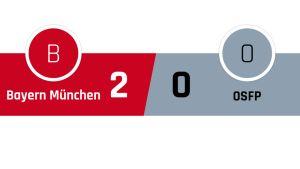 Bayern München - Olympiakos 2-0