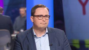 Tuomas Aarto oli torstai-iltana vieraana Ylen A-talkissa.