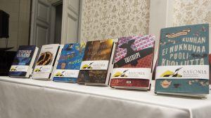 Savonia-kirjallisuuspalkintoehdokkaat