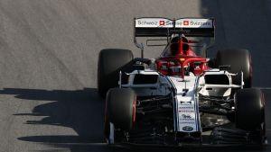 Kimi Räikkönen, Brasilian aika-ajot 2019