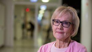 Suomen Syöpäpotilaat ry:n potilasaktiivi Paula Lumme
