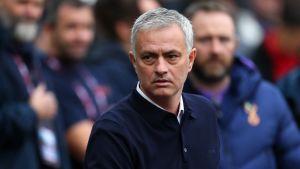 Jose Mourinho lähikuvassa.