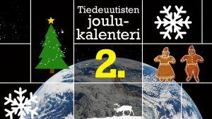 Tiedeuutisten joulukalenteri.