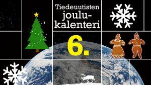 tiedeuutisten joulukalenteri