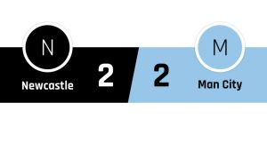 Newcastle - Manchester City 2-2