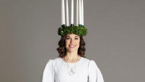 Suomen Lucia-neito Sara Ray