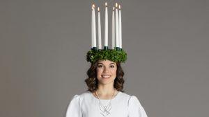 Vuoden 2019 Lucia-neito Sara Ray.