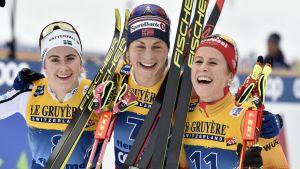 Ebba andersson, Astrin Uhrenholdt Jacobsen ja Katharina Hennig