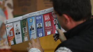 Kuvituskuva. Boliviassa käytiin viimeksi presidentinvaalit lokakuussa 2019.