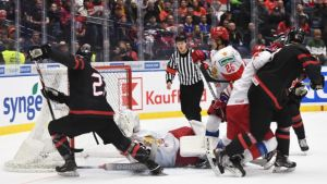 Kanadan ja Venäjän välinen U20 MM-loppuottelu ei jättänyt katsojia kylmäksi.