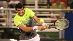 Henri Kontisen pari Dohan ATP-turnauksessa 2020 on kroatialainen Franko Skugor.