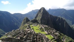 Machu Picchu inkakaupunki Perussa