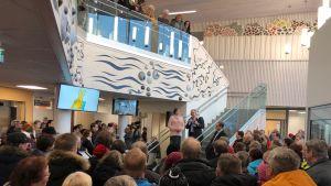 Sodankylän hyvinvointikeskus Sopukan avajaiset.