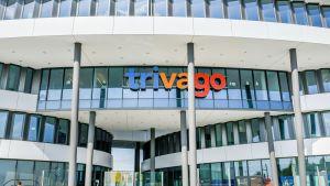 Hotellivarausten vertailusivusto Trivagon konttori Düsseldorfissa.