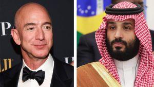 Jeff Bezos ja Mohammad bin Salman