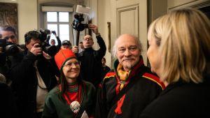 Åsa Larsson Blind ja Matti Blind Berg