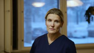 Inarin kunnan johtava terveyskeskuslääkäri Outi Liisanantti.