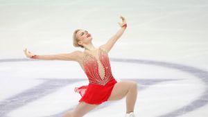 Emmi Peltonen EM-kisoissa 2020