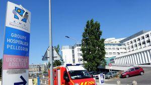 Bordeaux'n sairaala, jossa hoidetaan toista Ranskassa löydettyä koronaviruspotilasta.