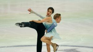 Yuka Orihara ja Juho Pirinen kuvassa