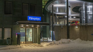 Lapin keskussairaala Rovaniemellä 29. tammikuuta.